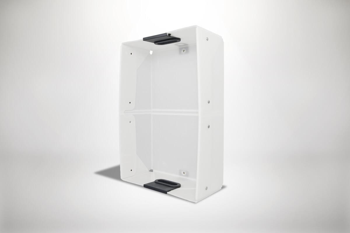 Weiße Quickboxx Faltbox Klappbox Transportbox Tragebox