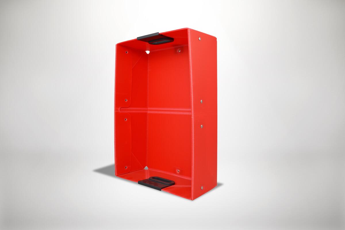 RoteQuickboxx Faltbox Klappbox Transportbox Tragebox